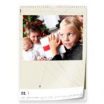 Calendrier photo mural « Design » (A4), par Pixum