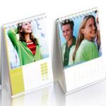 Calendrier photo de bureau (A6), personnalisé, par Smartphoto